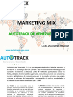Marketing Mix - Autotrack de Venezuela