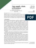 Measuring Performance of SC