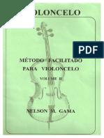 VIOLONCELO - MÉTODO - Nelson Gama - Volume 02