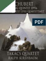 Schubert String Quintet & String Quartet D703