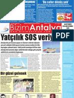 Bizim Antalya Gazetesi Sayı 3 Yıl 1