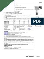 Sauter Presostat DSDU 103F020