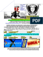 Informativo Missao Universitária radical 7 TEMA