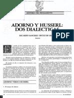 Adorno y Husserl- Dos dialécticas.pdf