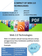 PPT Business Impact of Web 2.O