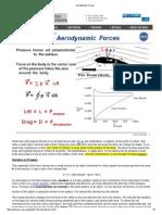 Aerodynamic Forces