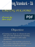 As-20 Earning Per Share