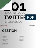 101 Herramientas de Twitter Para Negocios