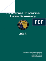 California Firearms Law Summary