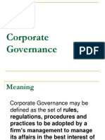 CSR Corporate Governance
