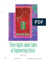 Three Myths About Codes of Engineering Ethics