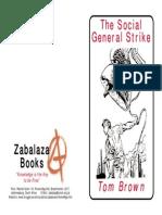Brown Tom the Social General Strike Anarchy Anarchism Syndicalism Revolution