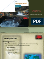 14 JIT Lean Operations