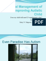 Medical Management of the Improving Autistic Child