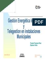 i b 4 Gestio Energetica Integral i Telegestio de Les Instalb7lacions Municipals Sr Francisco Perez Arelsa