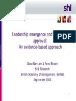 White Paper SHLCorporate Leadership Model