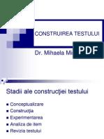 Curs v Construirea Testelor