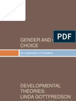 Gender and Career Choice