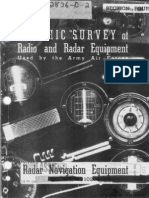 Graphic survey of Radio and Radar Equipment