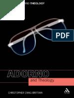 Adorno and Theology