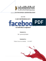 CASE METHODOLOGY - Facebook