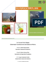 Plan Operativo Popocatepetl 1