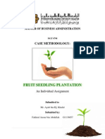 CASE METHODOLOGY - Fruit Seedling