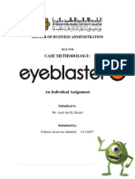 CASE METHODOLOGY - Eyeblaster
