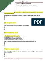 CUESTIONARIO DE APRECIACIÓN ESTETICA (PINTURA)
