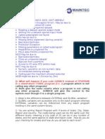 MAINTEC Mainframe Interview Questions