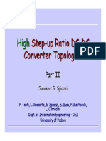 High Step Up Ratio DC DC Converters Part_II