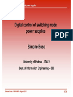 Digital Control of Switching Mode Power Supply Simone Buso 1
