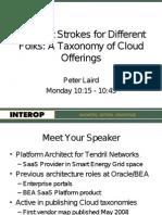 Laird Interop09 Cloud Taxonomies Fina