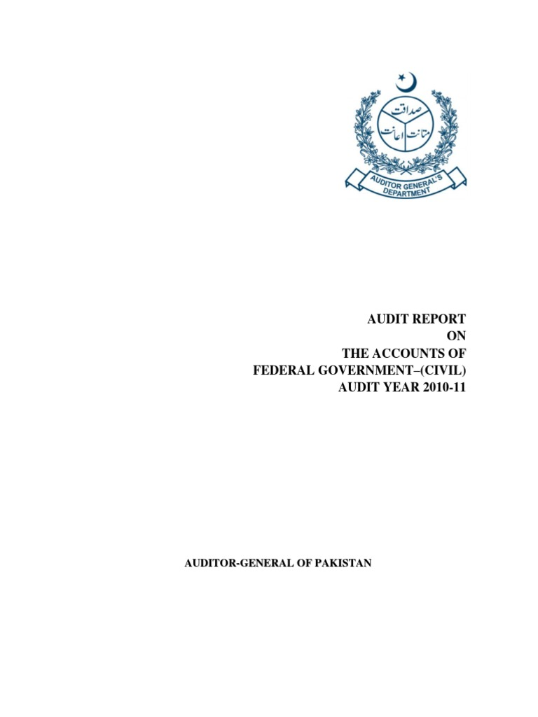 Audit Report 2010-11 | Audit | Pakistan