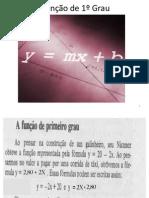 Aula 02- Função de 1º Grau (Professor)