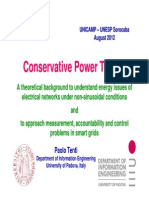 Conservative Power Theory CPT