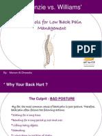 McKenzie_vs_Williams-Protocols for Low Back Pain Management