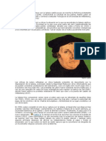 Teólogo alemán cuya ruptura con la Iglesia católica puso en marcha la Reforma protestante