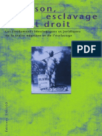 Esclavage Et Code Civil