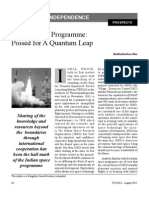 Indian Space Program Poised for a Quantum Leap