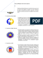 Functions of Philippine Government Agencies