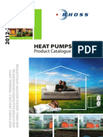 Rhoss Heat Pumps 2012 en Cat