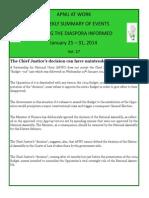 Diaspora News - January 25 - 31, 2014