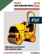 Rodillos Vibratorios de Operador Abordo 0609 Brochure DataId 24705 Version 1