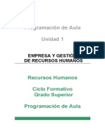 Programacion de Aula