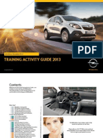 Opel Training Activity Guide Q4 2013_RO