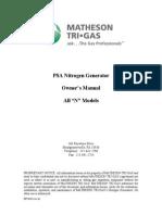 Instructions GEN NUHP Nitrogen Generator INT 0245 Rev A1