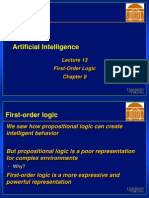 First Order Logic (3)