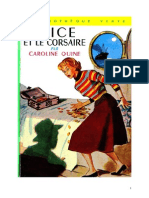 Caroline Quine Alice Roy 27 BV Alice Et Le Corsaire 1950
