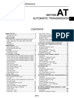 Nissan Navara Workshop Manual - Automatic Transmission